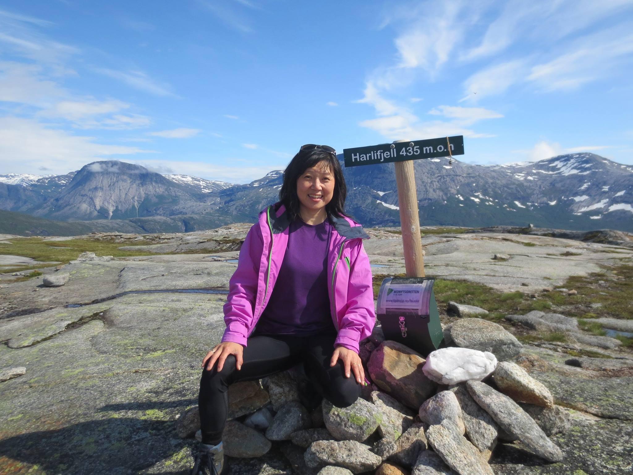 Ellen på fjellen